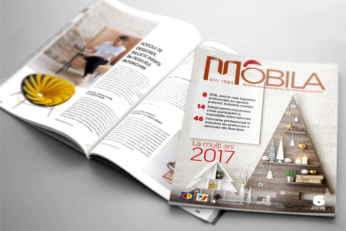 Design grafic si tehnoredactare revista